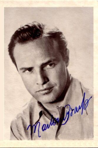 ++Hollywood Legende++2 Marlon Brando +Autogramme+