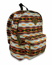 NEW DICKIES CLASSIC CANVAS BACKPACK / BAG AUTHENTIC - TRIBAL STRIPE - $60 RETAIL