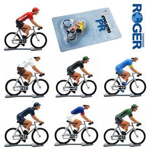 Cycling-Model-Die-Cast-Metal-Cyclist-Figure-Tour-De-France-Professional-Teams