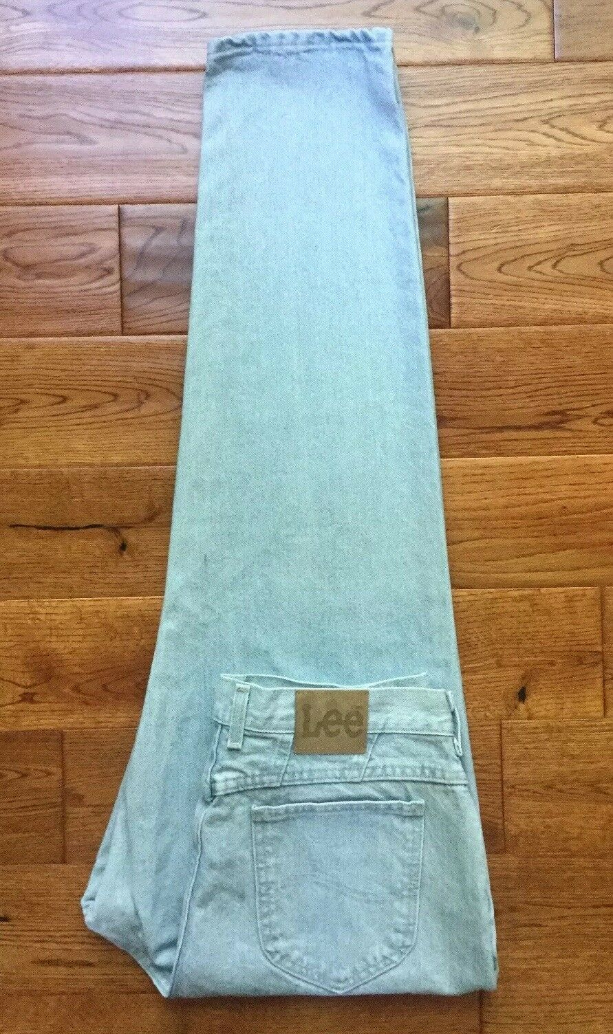 FABULOUS  VTG USA Womens Lee High Waist Tapered Leg Mom Jeans 18M W34 L32 RARE