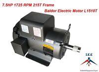 L1510t 7.5 Hp, 1725 Rpm Baldor Electric Motor Air Compressor