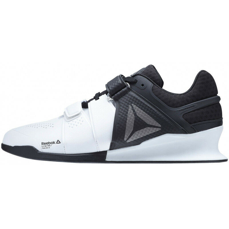 watch 94013 66b6e Mens Reebok Legacy Lifter Mens Weightlifting shoes - White