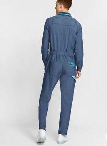 Nike Overalls Miami boiler suit Navy Blue Jump Suit CD4266-414 Adult Size L