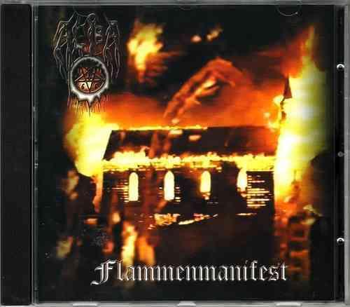 1 von 1 - AEBA - Flammenmanifest (CD) Black Metal RAR Last Episode