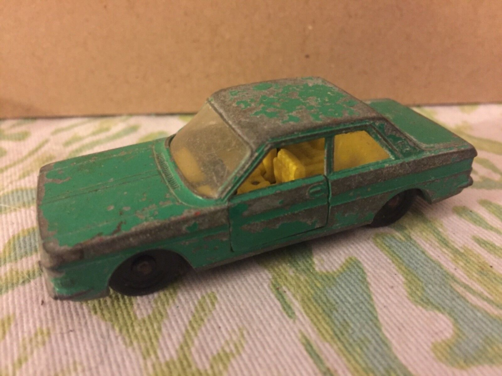 Vtg Siku Jade Green Ford 15M V273 Made In Germany RARE