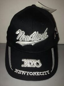 CAPPELLO-NEW-YORK-CITY-NERO-VISIERA-CAPPELLINO-HAT
