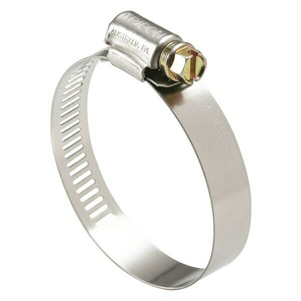 Tridon Part S. Steel Hose Clamps 27mm - 51mm Perforated Band 10pk