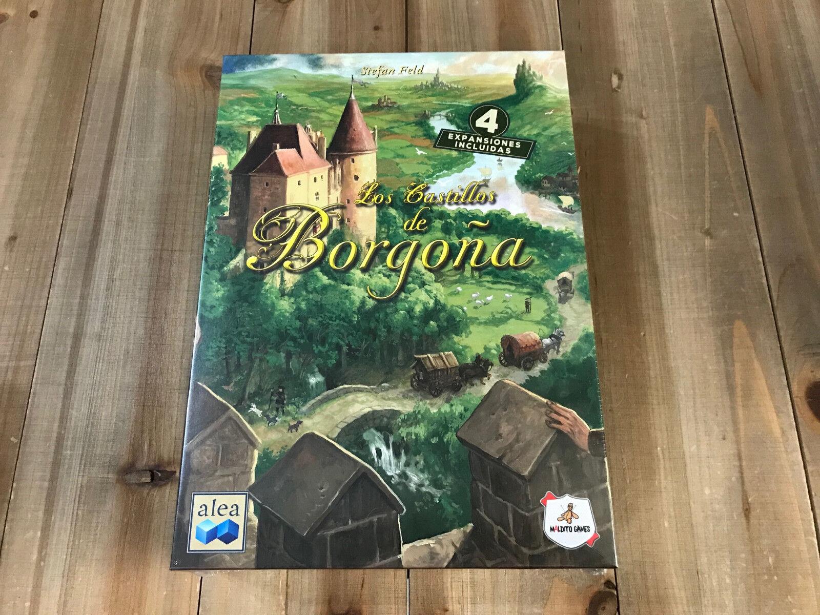 Juego de mesa - Los Castillos de Borgoña - Maldito Juegos - Precintado