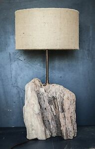 Chunky-Driftwood-Lamp-Rustic-trunk-wood-Lamp-Drift-Wood-Lamp-Lamp-Base-only