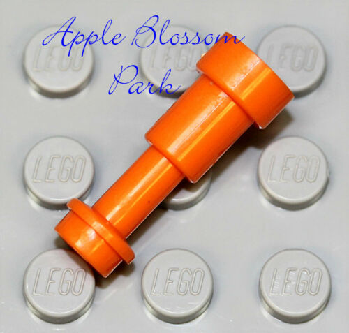 NEW Lego Castle Minifig ORANGE TELESCOPE Pirate Captain Spy Glass Scope Tool