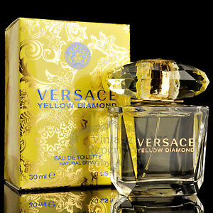 Versace Perfume Yellow Diamond Eau De Toilette Womens Parfum