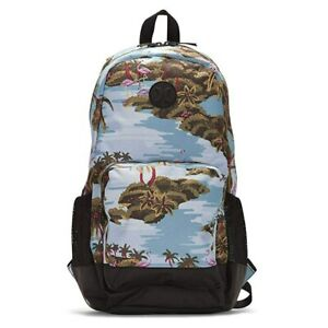 New Hurley Renegade II Flamigo Backpack HU0010 453 School Travel ... 8a1624770d967