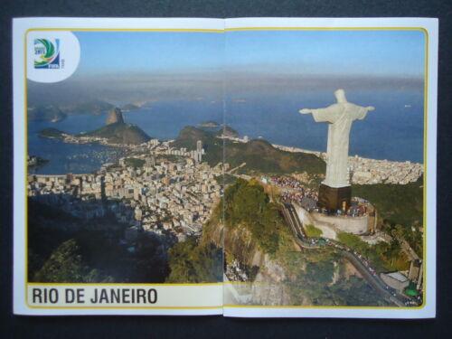 Panini 12 /& 13 Spielort Rio de Janeiro Confed Cup 2013 Brasilien