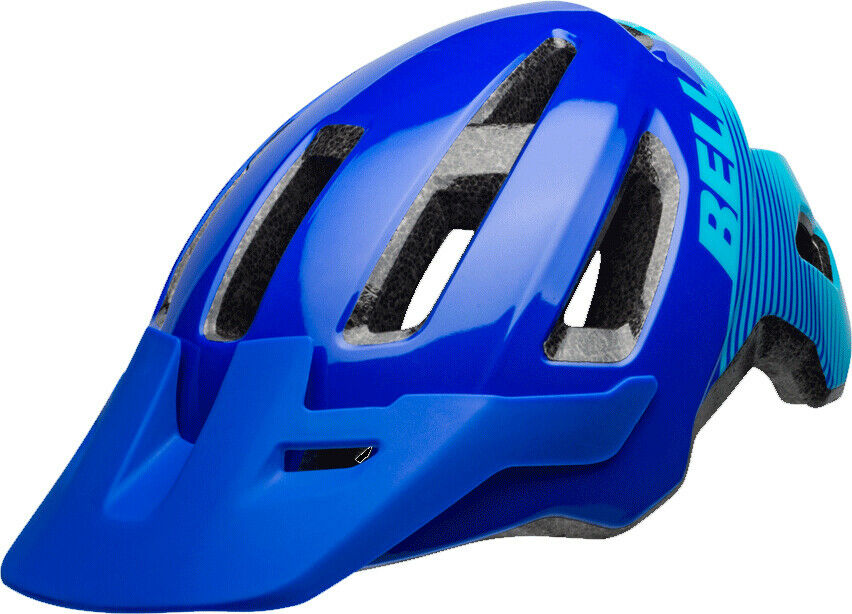 Bell Nomad MTB Cycling Helmet - bluee