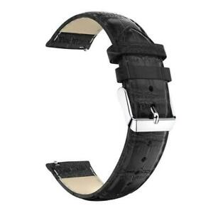 For-Garmin-Forerunner-645-Music-Strap-Crocodile-Leather-Watch-Band