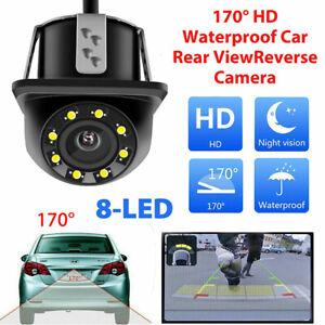 Waterproof 170? CMOS 8 LED Car Rear View Backup Parking Camera HD Night Vision