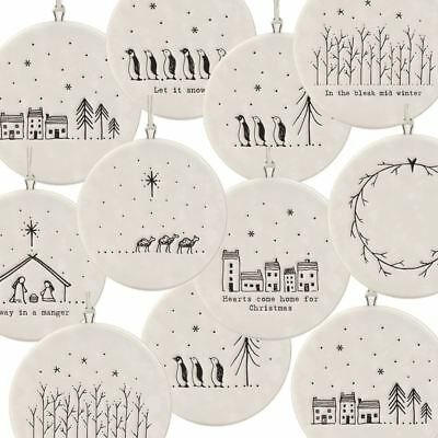 East Of India Porcelain Decoration Home For Christmas
