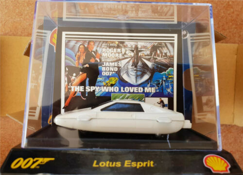 James Bond 007 Collection Set of 5 Car Movie Special Limited Edition SHELL 1:64