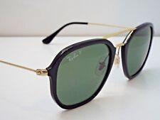 5b7da0cfade3c Authentic Ray-Ban RB 4273 601 9A Black Green Classic Polarized Sunglasses   245