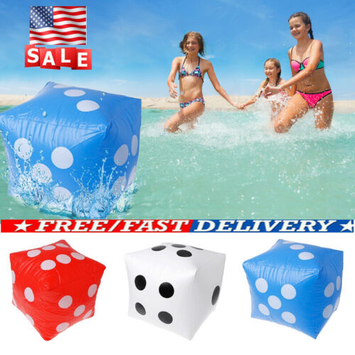 Giant Inflatable Blow-up Dot HUGE Dice Children Party Flavor Kid Pool Toy USA !