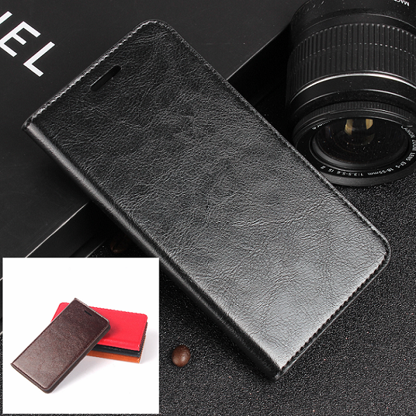 Genuine Leather Wallet Card Holder Flip Case Cover For Samsung Galaxy S7