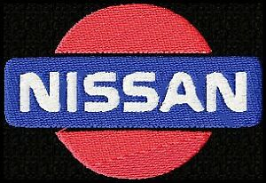 NISSAN-EMBROIDERED-PATCH