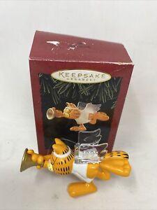 Hallmark Keepsake Ornaments 1995 Garfield * Christmas Angel ** FREE SHIPPING **
