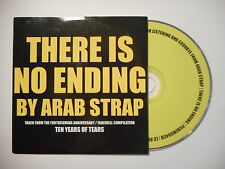 ARAB STRAP : THERE IS NO ENDING ♦ CD SINGLE PORT GRATUIT ♦