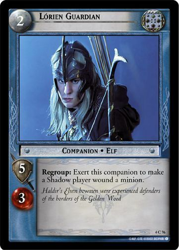 LoTR TCG TTT The Two Towers Rider Of Rohan FOIL 4C286