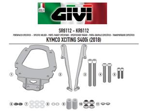 Mode 2019 Attacco Posteriore Bauletto Monokey,monolock Kymco Xciting S400i 2018 Givi