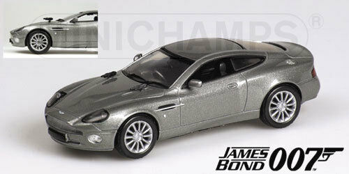 Aston Martin V12 Vanquish James Bond 007 Die Another Day 1 43 Model MINICHAMPS