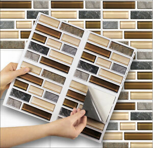 4 tile transfer stickers 6 x 6 stick mosaic for kitchen bathroom