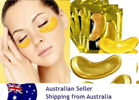 10 pairs GOLD Collagen Crystal Eye Mask Moisturising Anti wrinkle mask,Aust sell