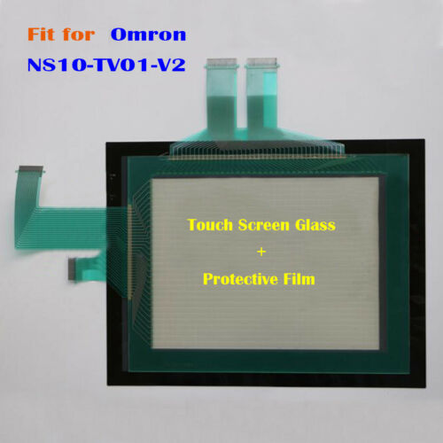 for Omron NS10-TV01-V2 Protective Film New #7 NS10TV01V2 Touch Screen Glass