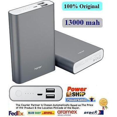 Genuine Huawai Honor Power Bank 13000 mAh AP007 +DC 5V -2A +VAT Paid Bill