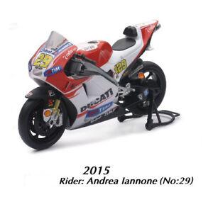 New-Ray-1-12-Andrea-Iannone-Ducati-Modelo-Juguete-Moto-Gp-Motocicleta
