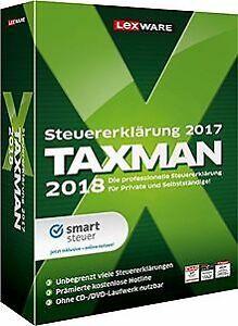 TAXMAN-2018-von-Lexware-Software-Zustand-gut