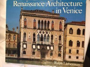 Lieberman-Ralph-Renaissance-Architecture-in-Venice-1450-1540-1982