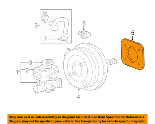 GM OEM-Power Brake Booster Gasket 15819684