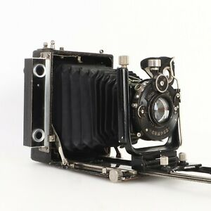 Details about - Zeiss Ikon Ideal Plate Camera w Dominar Lens, Parts or  Repair