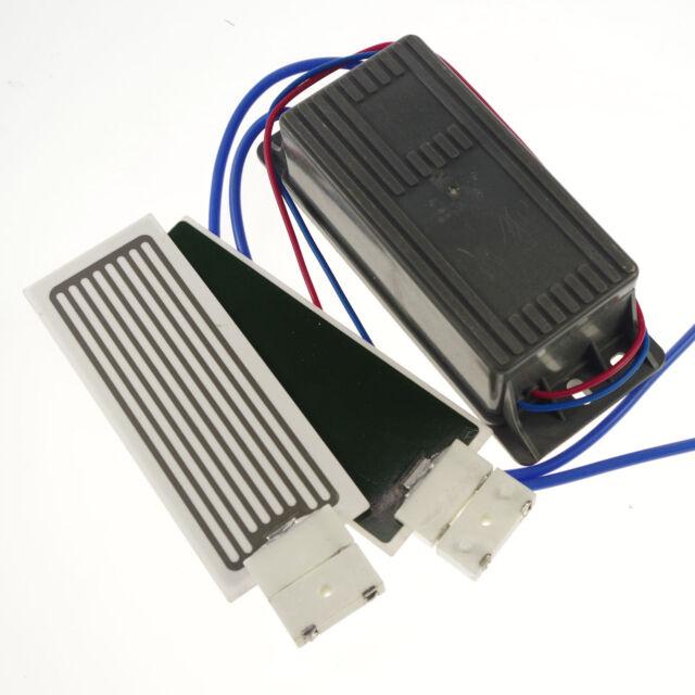1PCS 12V 7000mg/h Ceramic Plate&2*Circuit Board Ozone  Air Purifier Kit