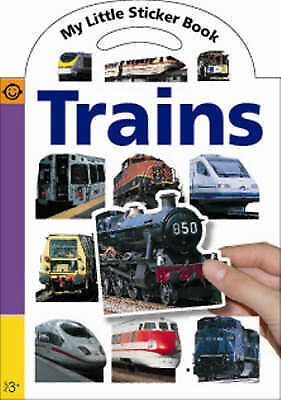 My Little Sticker Book Trains by Roger Priddy (Paperback, 2008)