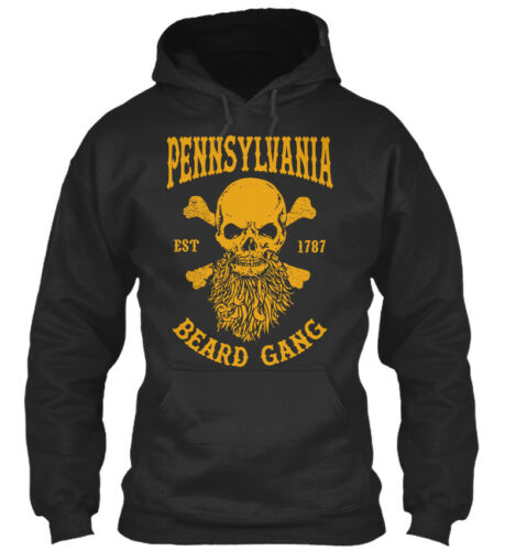Pennsylvania Beard Gang-est 1787 Standard College Sweat à capuche