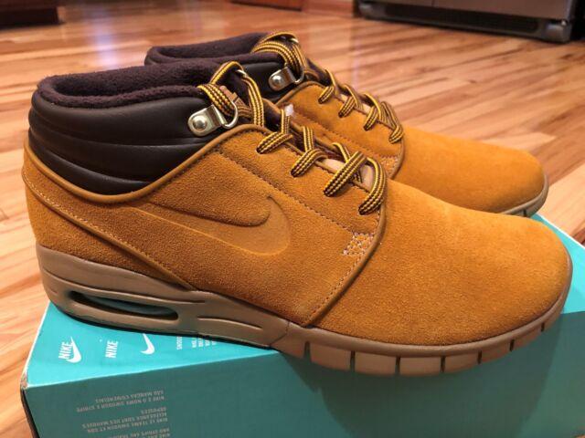 762dac17667e8 Nike Stefan Janoski Max Mid PRM Bronze Gum Light Brown Av3610 779 ...