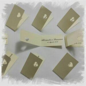 Bigliettini Matrimonio Bomboniere.Cartoncini Bigliettini Per Bomboniere Matrimonio Nozze Stampa