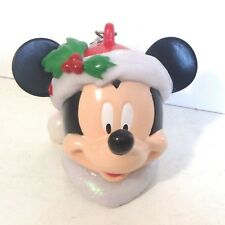 647cc3452f5ac Disney Parks Santa Mickey Mouse Christmas LED Light Up Ornament    Keychain