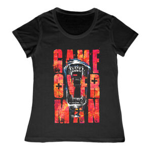 Ladies-Aliens-Game-Over-Man-Xenomorph-Marine-Hudson-Nostromo-Movie-T-Shirt-LV426