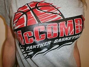Mccomb lady panther basketball t shirt ohio high school for High school basketball t shirts
