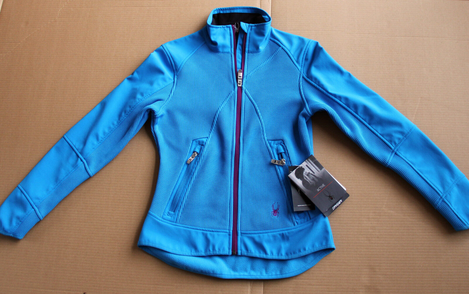 New SPYDER ALOFT Hybrid Softshell Core women's sweater