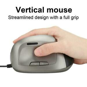 Optical-USB-Wired-6D-Ergonomic-Vertical-Mouse-1200DPI-Gaming-Mice-For-Laptop-PC